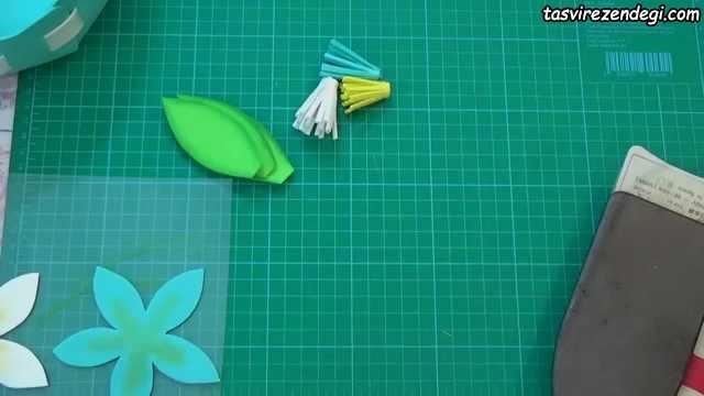 آموزش ساخت سبد با فوم