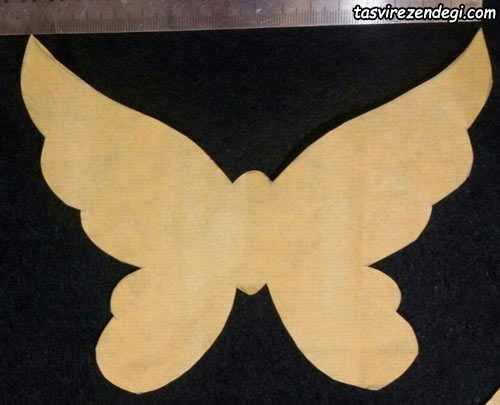 آموزش ساخت استیکر پروانه