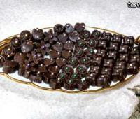 شکلات قهوه بدون فر