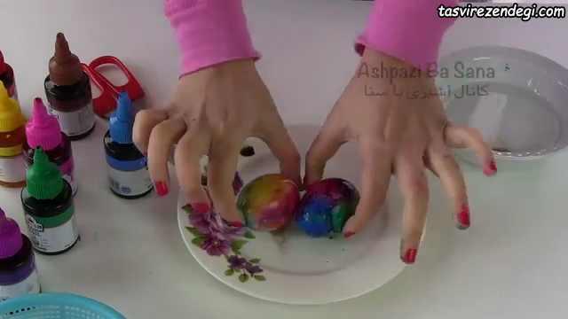 رنگ آمیزی تخم مرغ , تزیین تخم مرغ