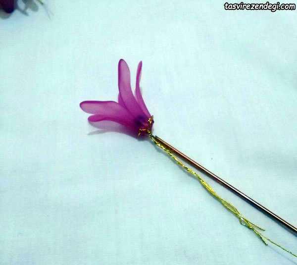 آموزش ساخت شاخه سنبل کریستالی