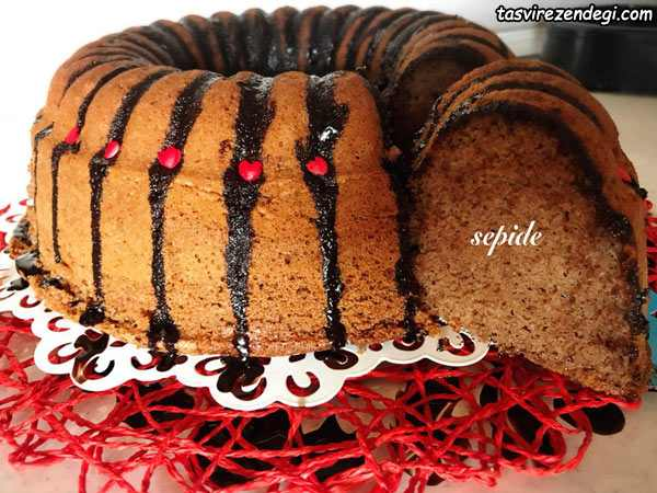 طرز تهیه کیک شکلاتی اسپرسو با قهوه ترک