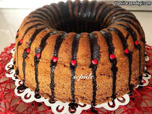 کیک شکلاتی اسپرسو , کیک قهوه ترک