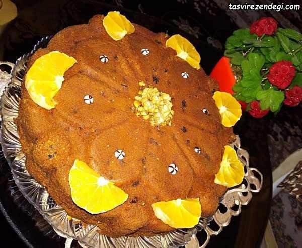 طرز تهیه کیک شیره انگور خوشمره و مقوی مناسب صبحانه و عصرانه