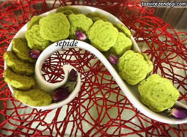 طرز تهیه شیرینی پسته ای برای پذیرایی عید نوروز