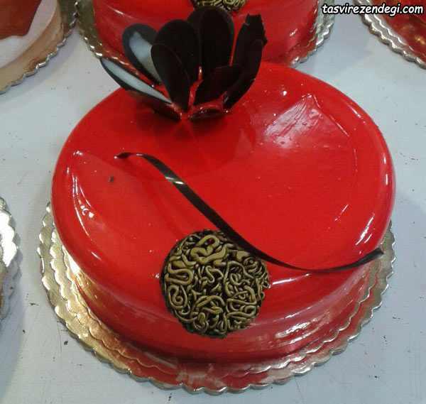 تزیین کیک ولنتاین , تزیین کیک عاشقانه