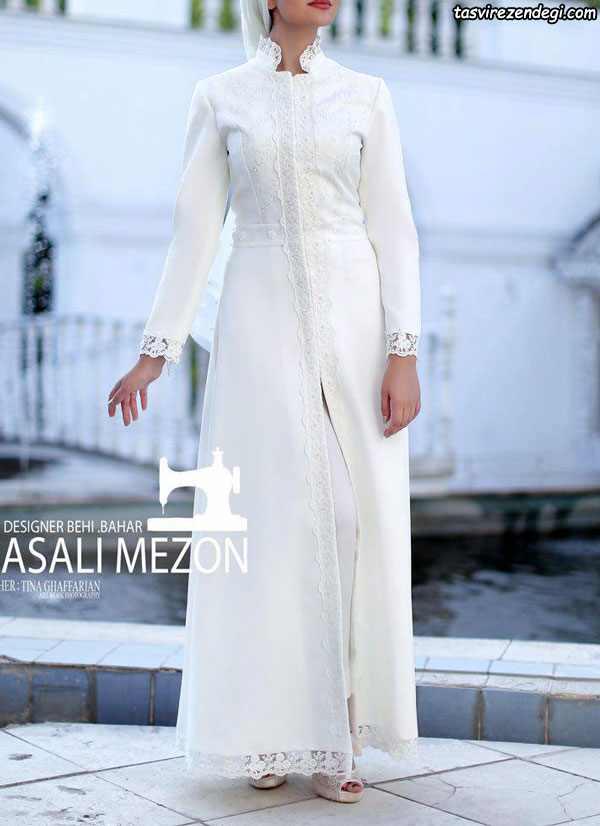 عکس های مدل مانتو عروس جدید و مانتو نامزدی مزون ASALI