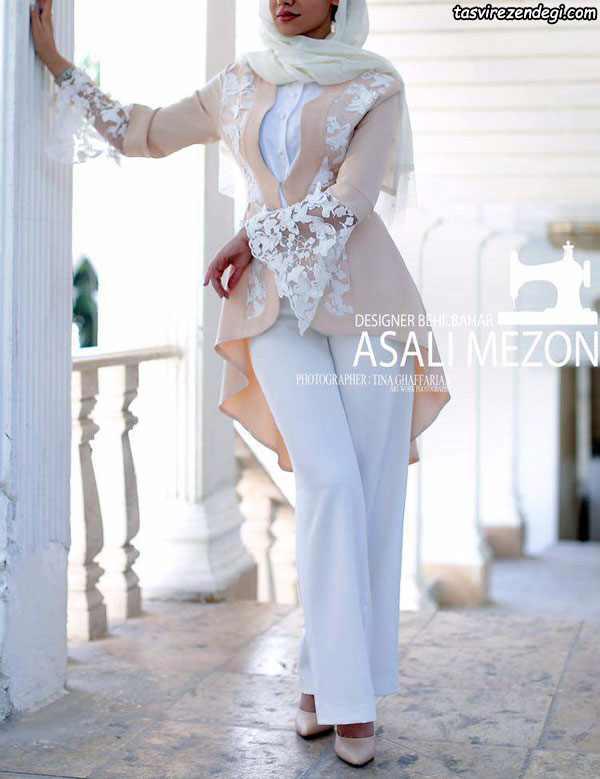 مانتو نامزدی جدید شیک, مدل مانتو عروس