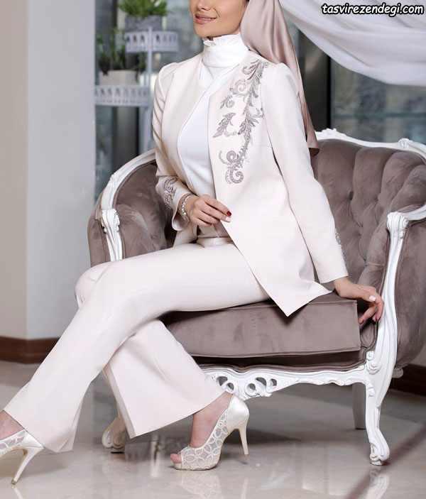 مانتو نامزدی شیک , مدل مانتو عروس جدید