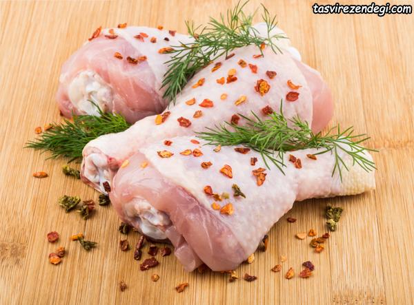 ازبین بردن بوی بد مرغ