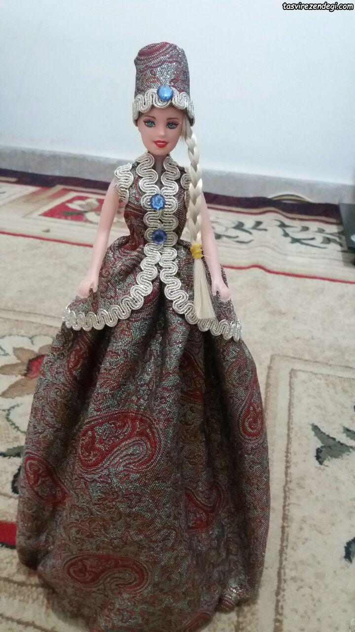 آموزش دوخت لباس سنتی عروسک