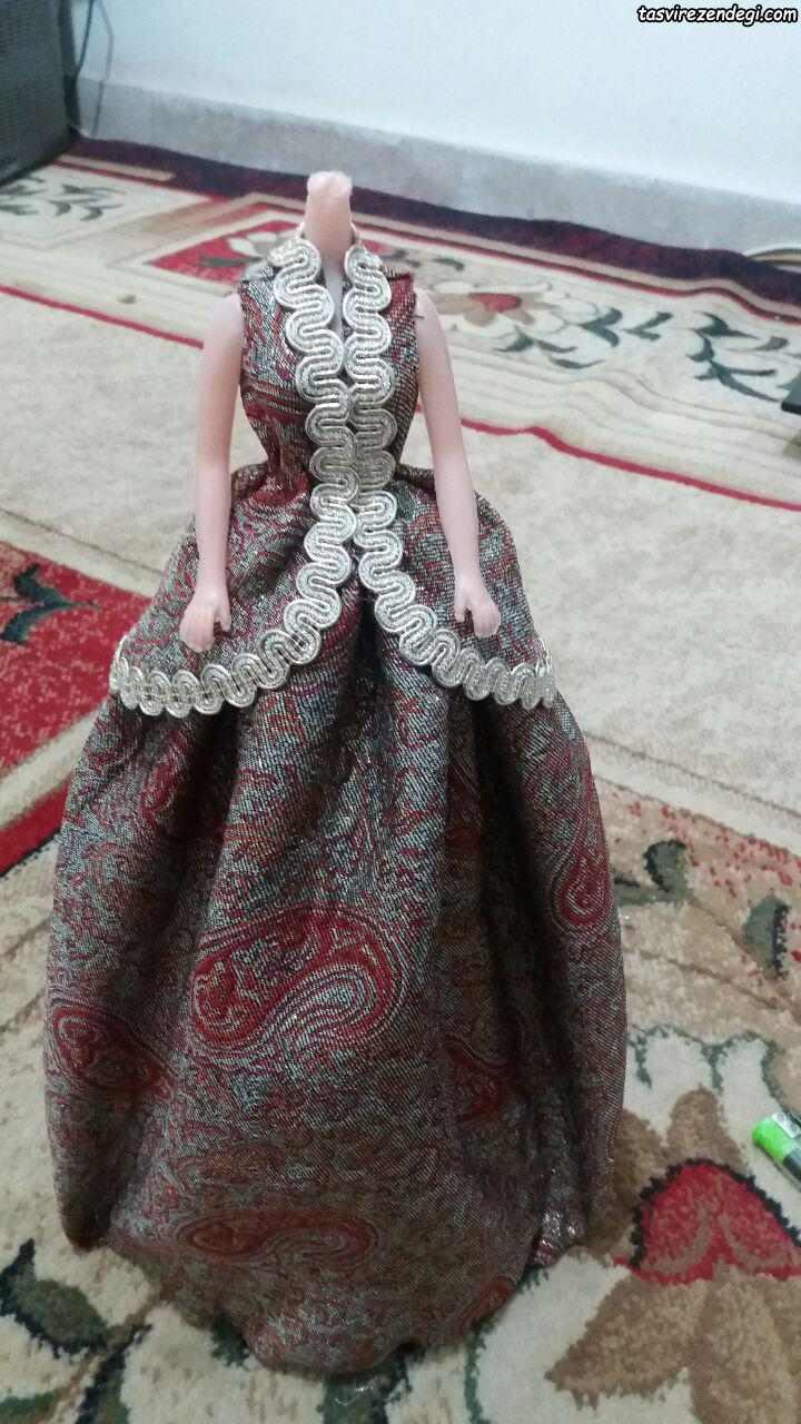 آموزش دوخت لباس محلی عروسک