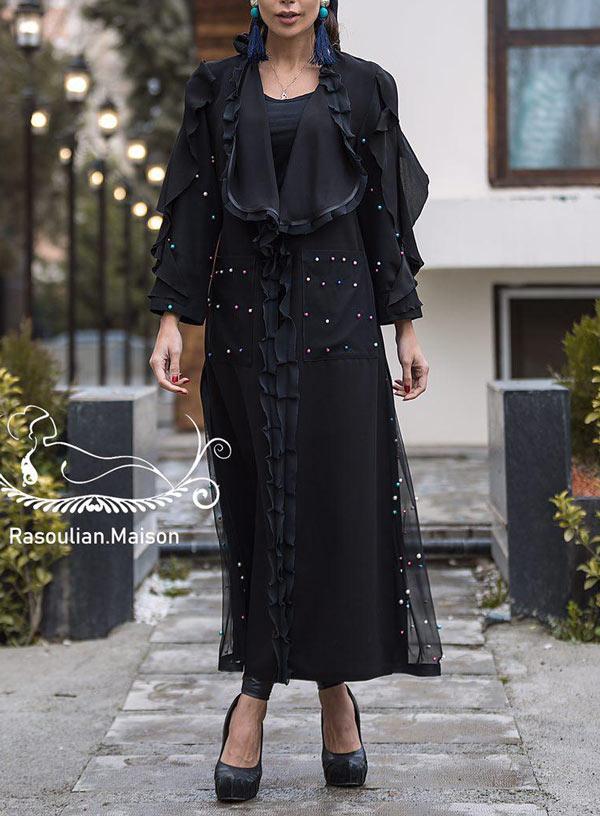 برترین مدلهای مانتو مجلسی , مانتو عید مشکی
