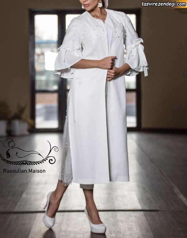 برترین مدلهای مانتو مجلسی , مانتو عید سفید