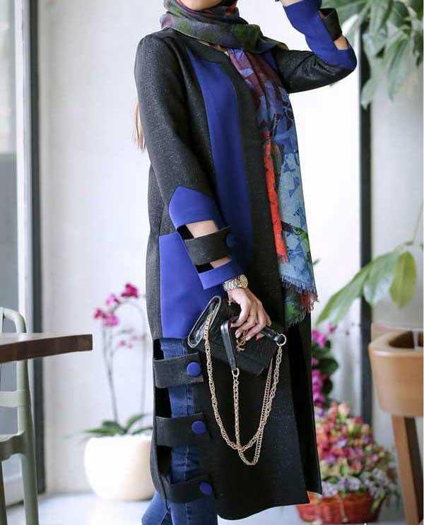 مدل مانتو جدید دخترانه , مانتو بهاری