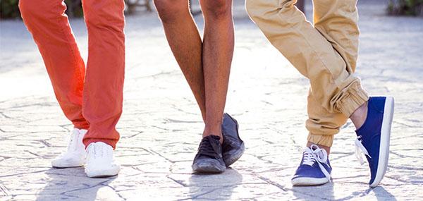 ست کردن استایل مردانه با کفش