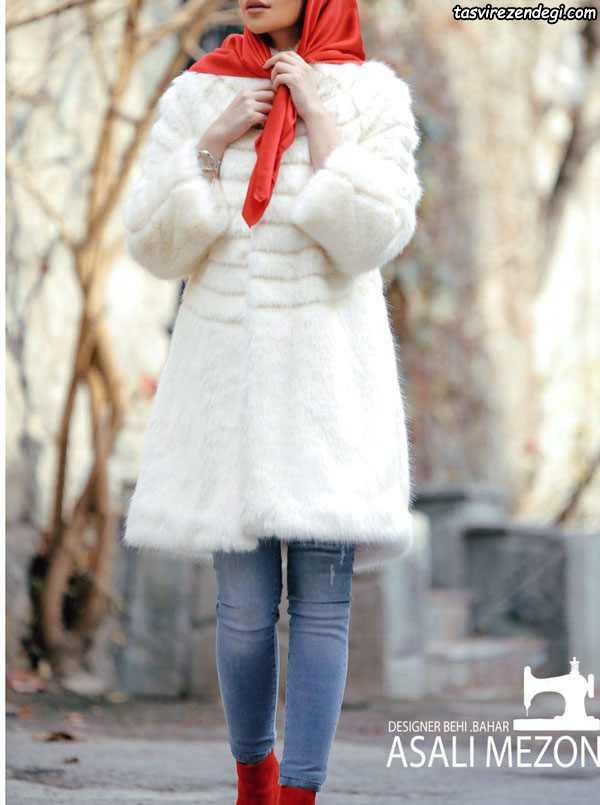 مدل مانتو عروس زمستانی