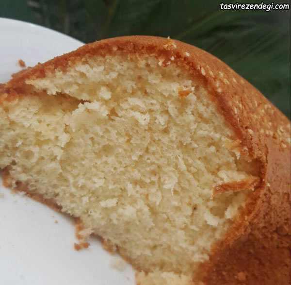 کیک نارگیلی خوشمزه