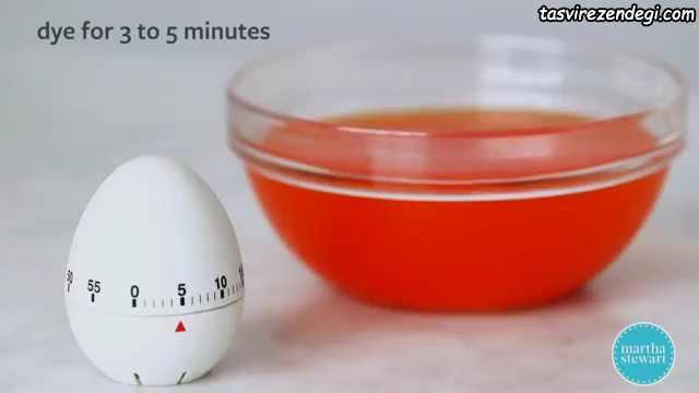 روش رنگ کردن تخم مرغ , نقاشی نقطه ای روی تخم مرغ