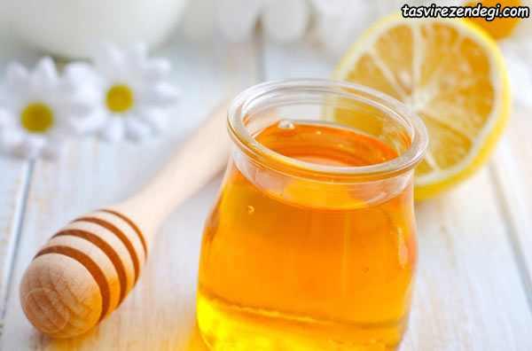 کاهش چین و چروک صورت , ماسک لیمو و عسل