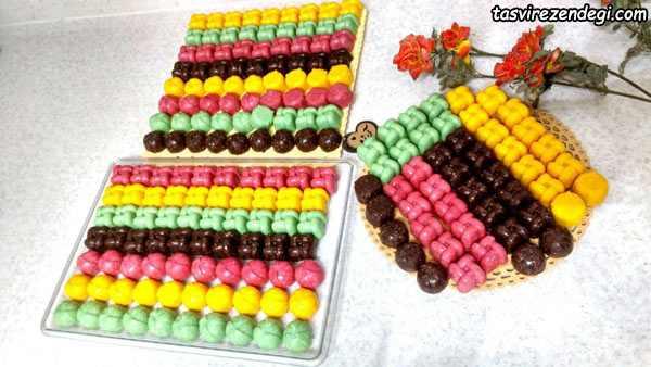 شیرینی شوکومالد , شکومالد نارگیلی