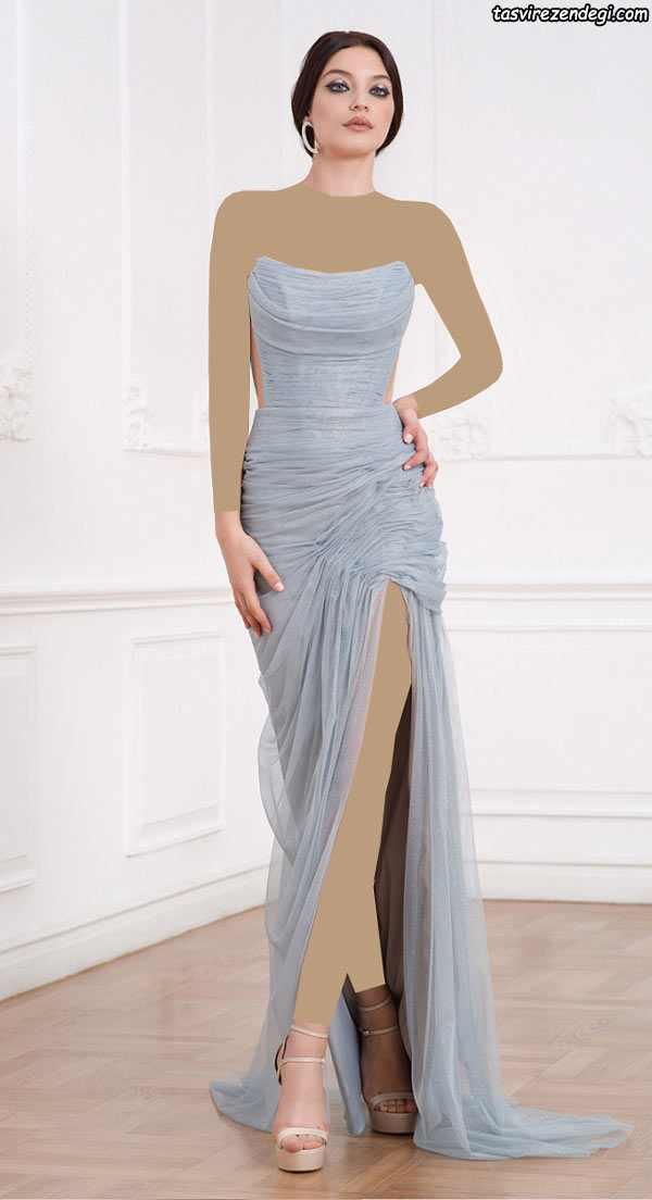 مدل لباس مجلسی 2018 , لباس شب 97