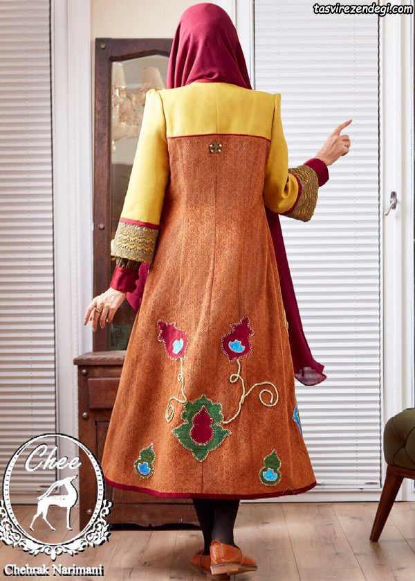 مدل مانتو مجلسی کلاسیک , مانتو سنتی بلند