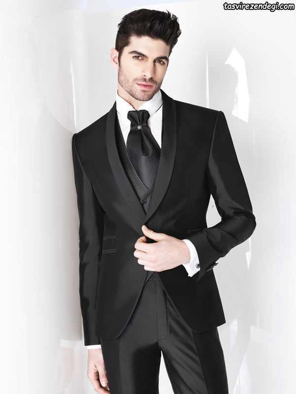 کت و شلوار رسمی مردانه 2018 , کت شلوار مجلسی مردانه