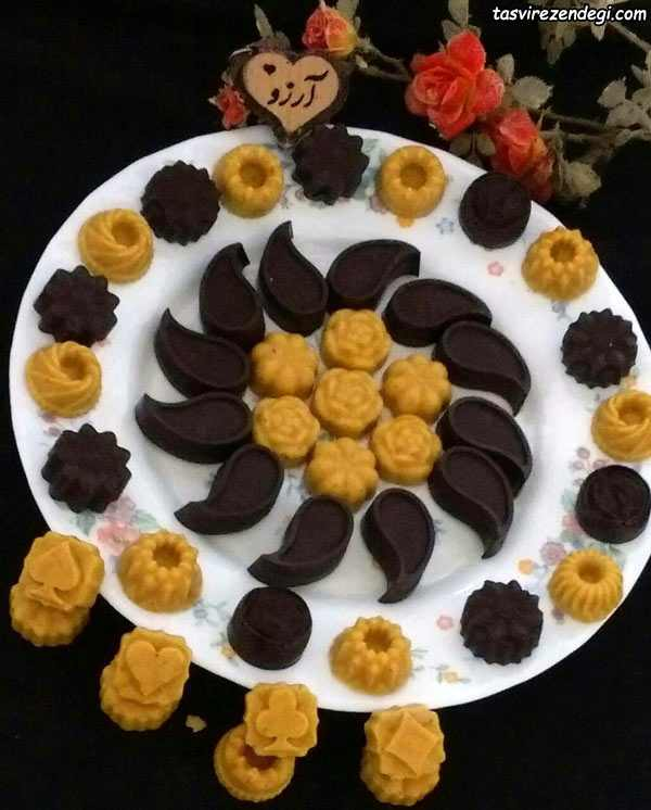 برشتوک شکلاتی مجلسی