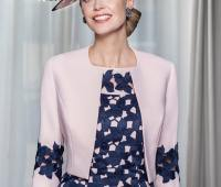 مدل لباس مجلسی مادر عروس با کت کوتاه