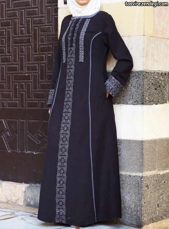 مدل مانتو بلند پوشیده , مانتو اسلامی مجلسی