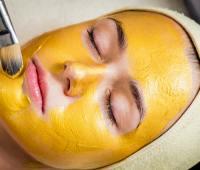 ماسک زردچوبه , لایه برداری پوست