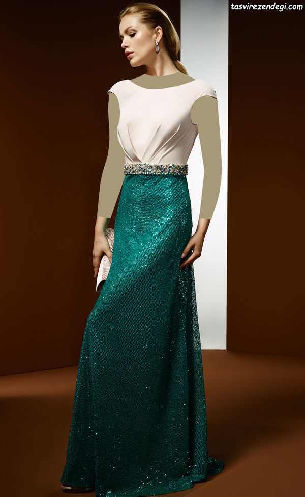 لباس مجلسی بلند 2018 , لباس شب 97