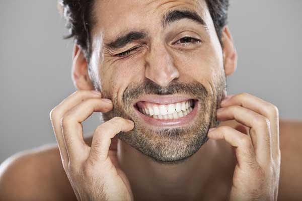 خارش ریش هنگام بلند کردن ریش