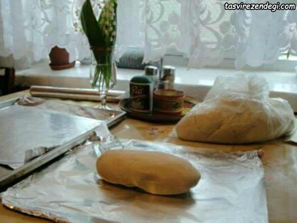 ساخت آویز ماهی خمیری , آموزش ساخت خمیر سرامیکی