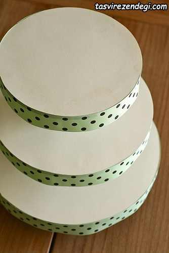 آموزش ساخت برج کاپ کیک