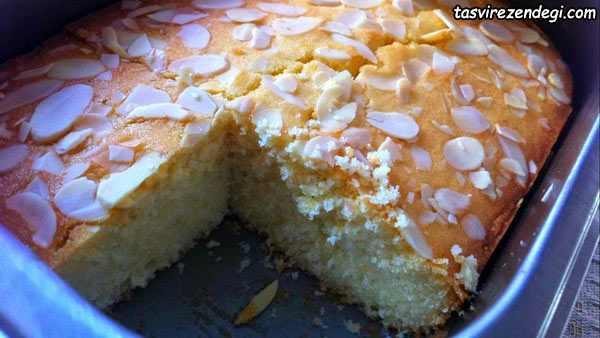 طرز تهیه کیک آرد برنج
