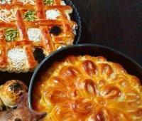 نان زعفرانی زنجبیلی