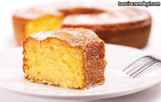 کیک اسفنجی 4 تخم مرغی