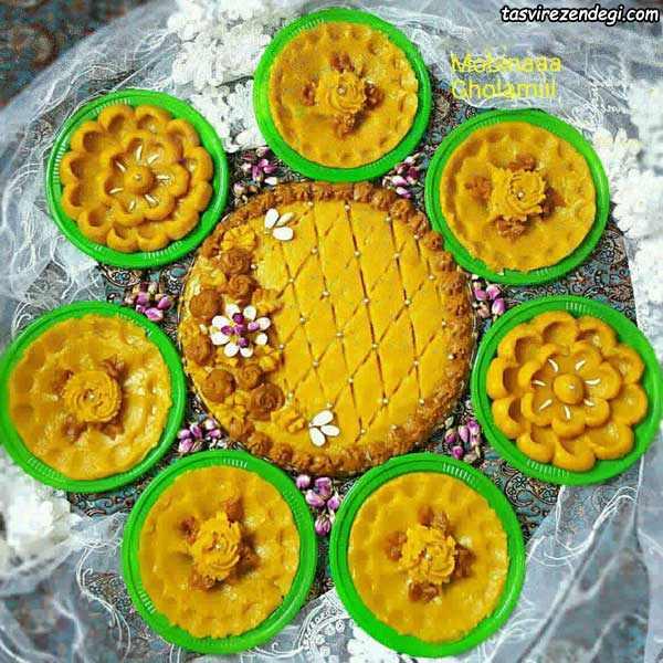 حلوا زرد شیرازی