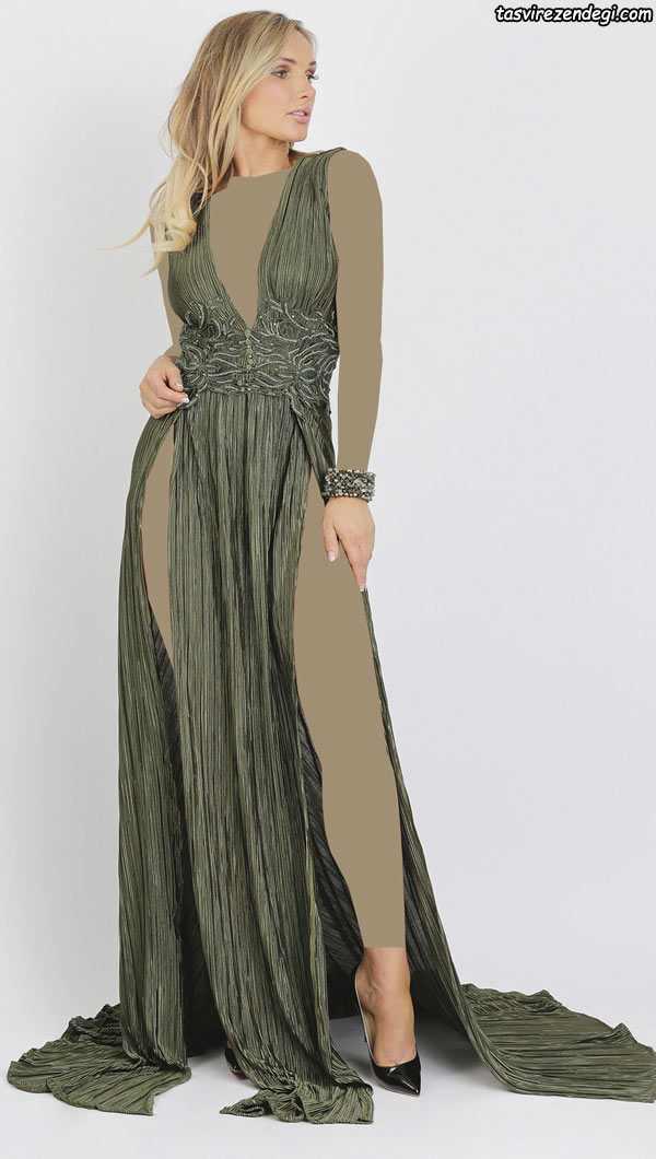 مدل لباس مجلسی دوبنده , مدل لباس شب