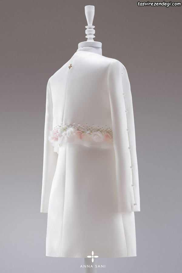 مدل مانتو عروس 97 , مانتو نامزدی سفید