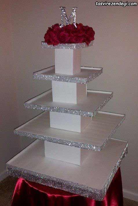 استند کاپ کیک تولد