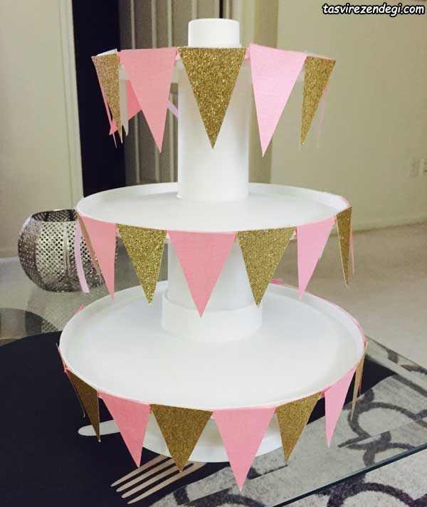 استند شیرینی و کاپ کیک