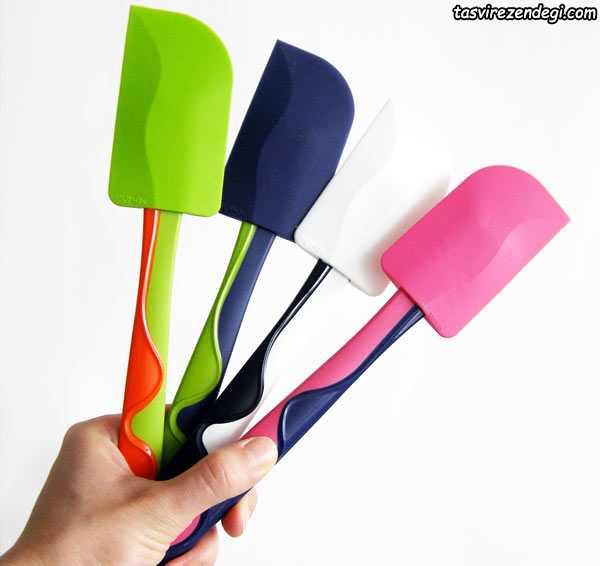 rubber spatula , فولد کردن , لیسک
