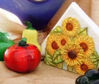 آموزش ساخت جا دستمال سفره با خمیر سرامیکی