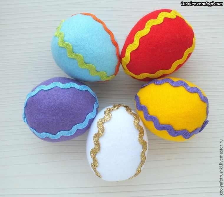 تخم مرغ نمدی