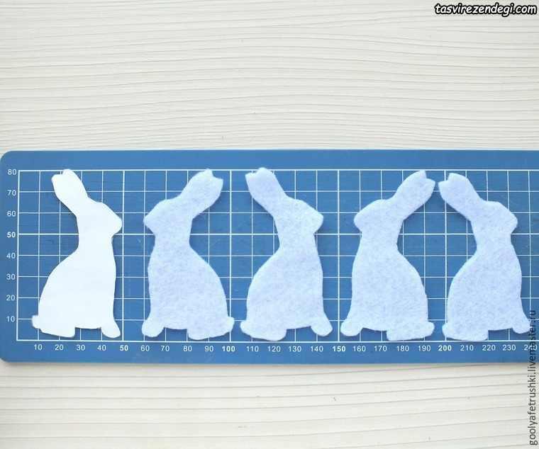 خرگوش نمدی