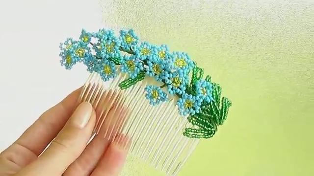 ساخت دسته گل منجوقی