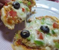 مینی پیتزا تابه ای
